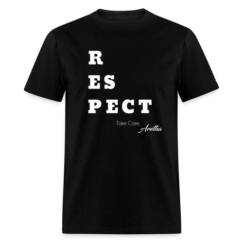 Respect Aretha - Men's T-Shirt
