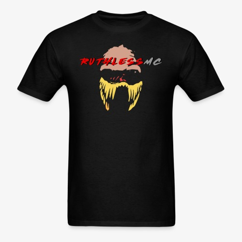 ruthless mc color logo t shirt - Men's T-Shirt
