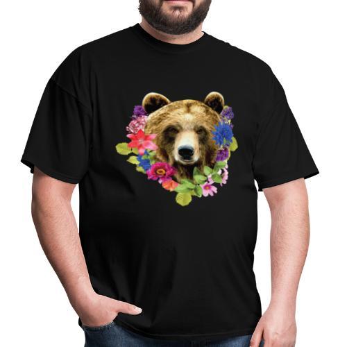 bearrFlowers - Men's T-Shirt