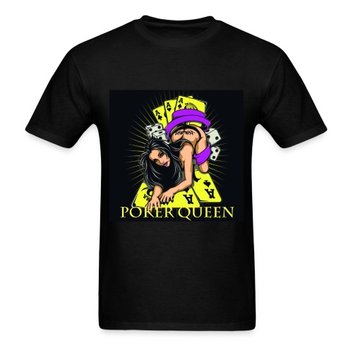 Poker Queen T-Shirt - Men's T-Shirt