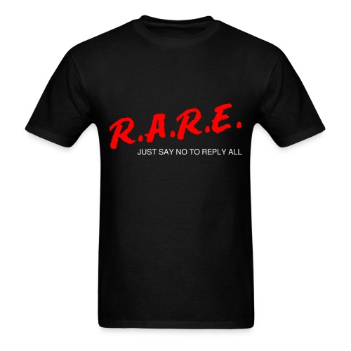 R.A.R.E - Reply All Resistance Education - Men's T-Shirt