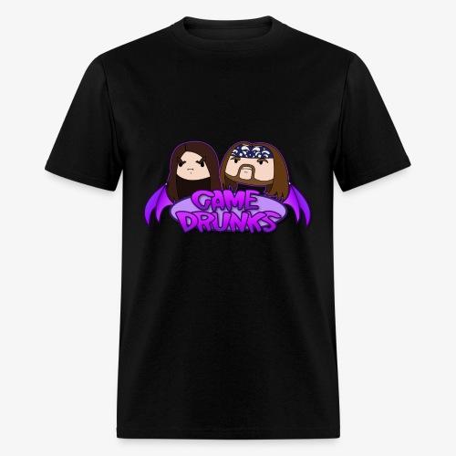 Game Drunks Logo - Men's T-Shirt
