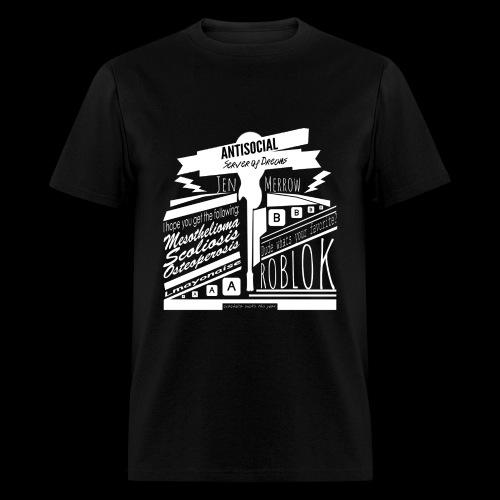 ANTISOCIAL SHIRT - Men's T-Shirt