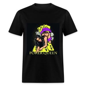 Poker Queen T-Shirt - Men's T-Shirt