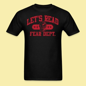 Fear Dept - Athletic Red - Inverted - Men's T-Shirt
