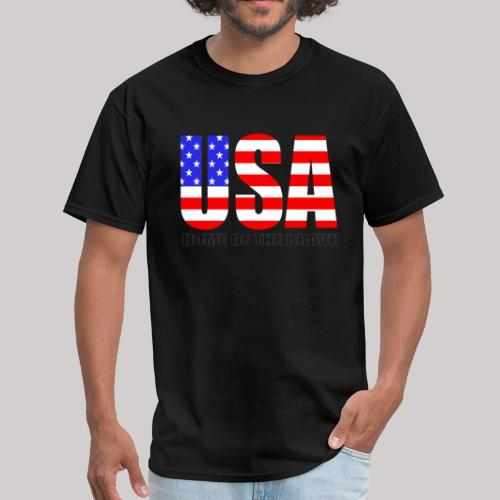 USA Home Of The Brave - Men's T-Shirt