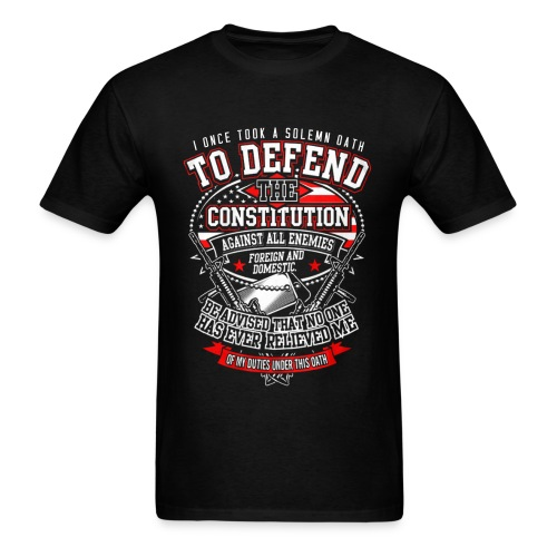 Veteran T-Shirt For Mens Veteran T-Shirt - Men's T-Shirt
