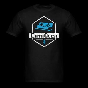DivanQuest Logo (Badge) - Men's T-Shirt