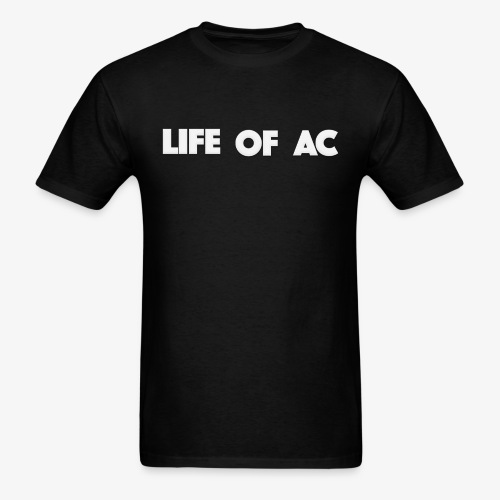 Classic Black | Life Of AC - Men's T-Shirt