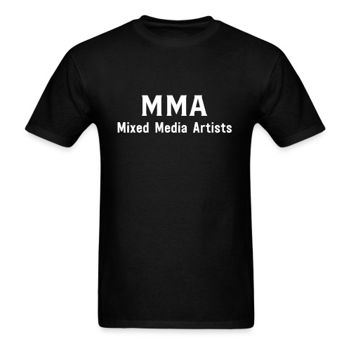 Mixed Media Artists Clothing - Men's T-Shirt