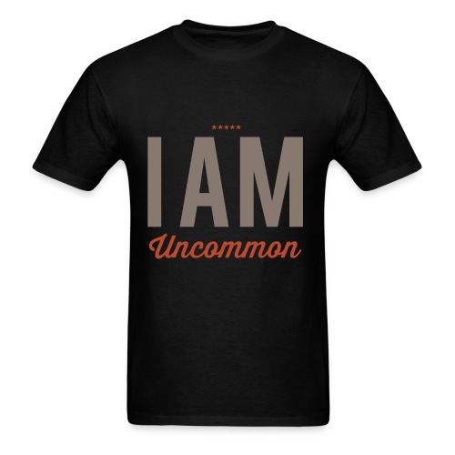 I Am Uncommon - Men's T-Shirt