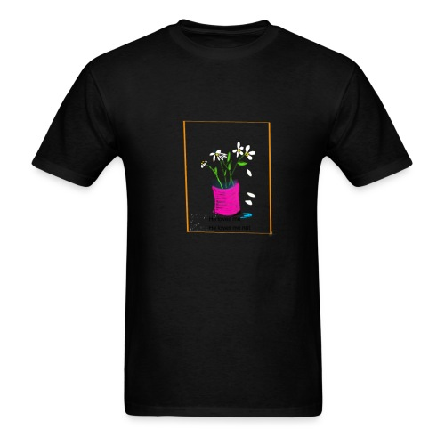 He Loves Me He Loves Me Not Daisy - Men's T-Shirt