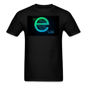 save the earth for UAE - Men's T-Shirt