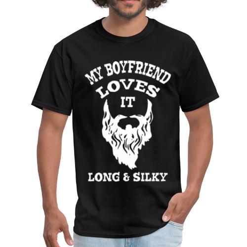 My Boyfriend loves it Long & Silky - Men's T-Shirt