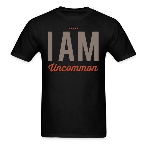 I Am Uncommon - Men's T-Shirt
