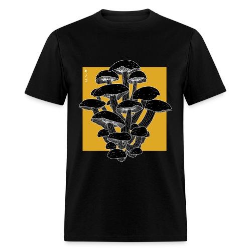 shrooms 2 edited 1 - Men's T-Shirt
