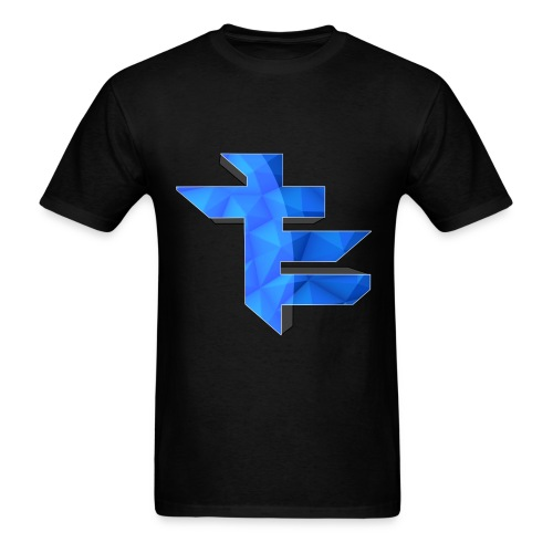 Simple LightningTE Logo - Men's T-Shirt