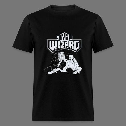 Jiu Jitsu Wizard- Crystal ball-o-plata - Men's T-Shirt