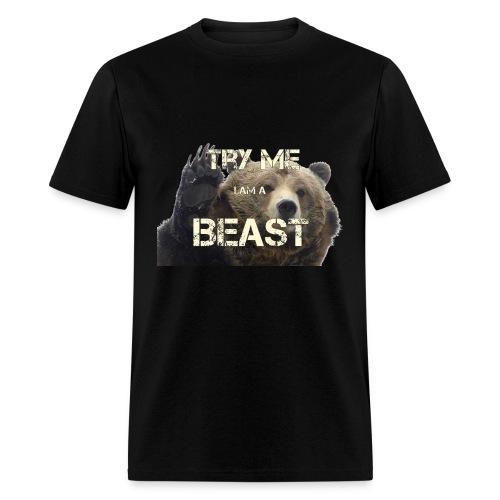 TRY ME BEAST - Men's T-Shirt