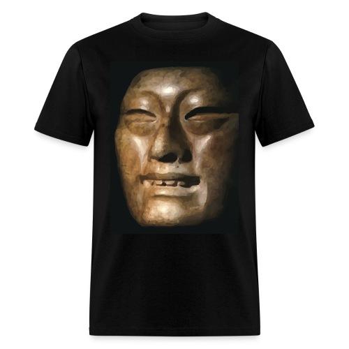 Mask of Olmec Asiatic - Men's T-Shirt