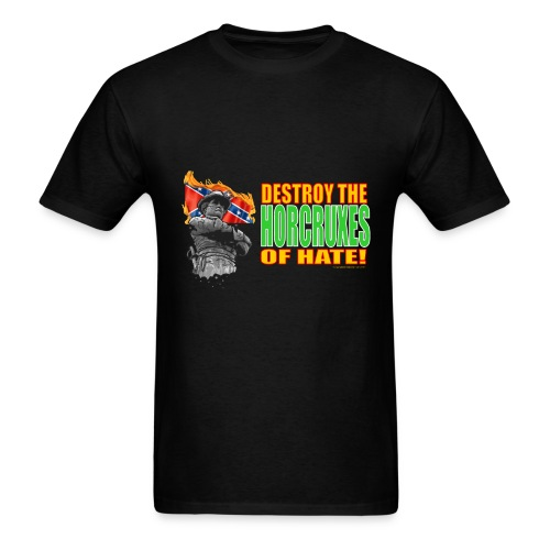 DESTROY THE HORCRUXES OF HATE! - Men's T-Shirt