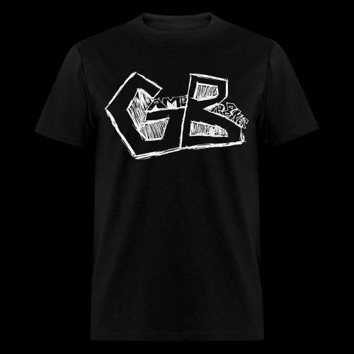 GameBr8ker Scribble White - Men's T-Shirt