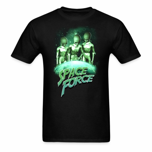 Seek & Destroy | Space Force T-Shirt - Men's T-Shirt