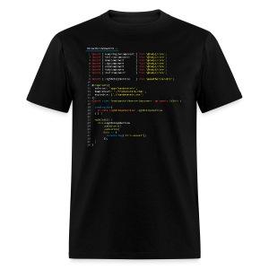 Frankenstein made with Angular - Men's T-Shirt
