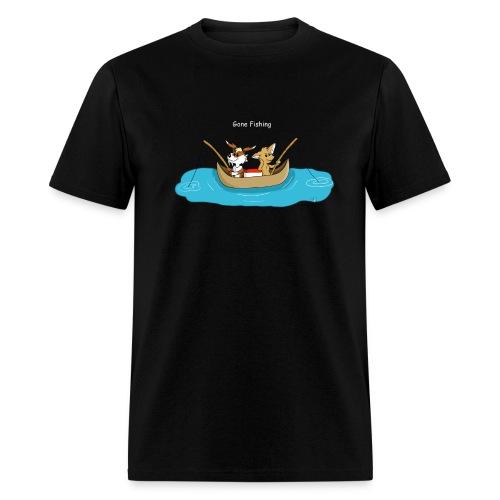 Gone Fishing - Men's T-Shirt