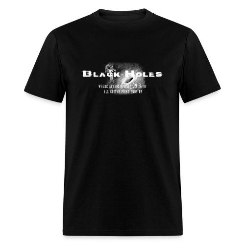 Black Holes & Guitar Picks - Men's T-Shirt