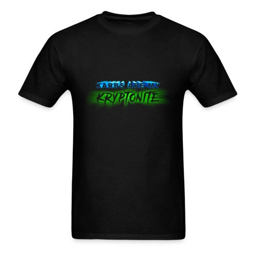 Karbs Are My Kryptonite - Men's T-Shirt