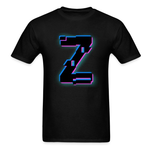 Glitchy Z - Men's T-Shirt