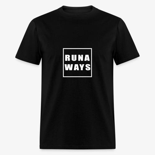 Runaways Box Logo - Men's T-Shirt