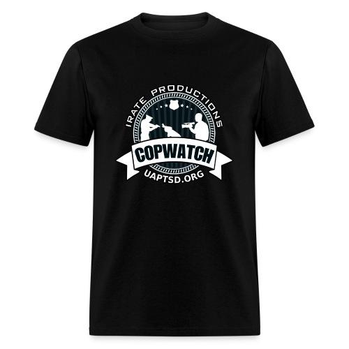 IRATE Productions Copwatch - Men's T-Shirt