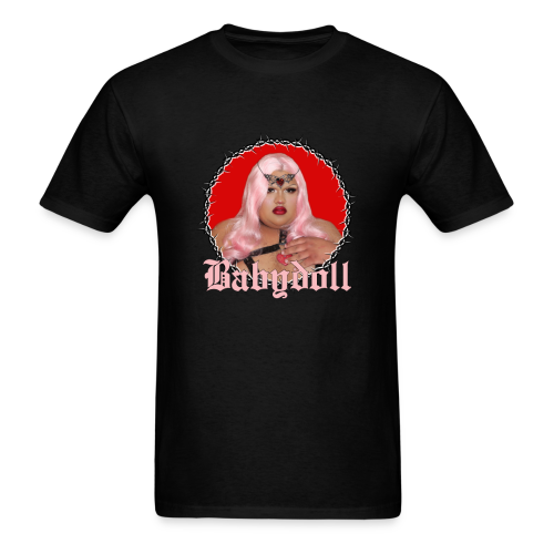 Crimson Babydoll T-Shirt - Men's T-Shirt