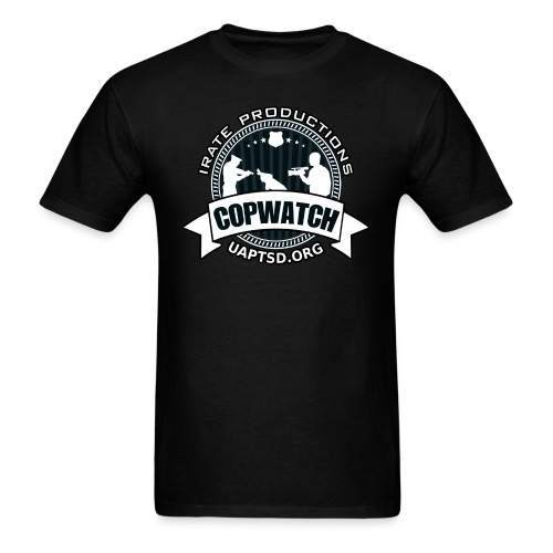IRATE Productions Copwatch - Men's T-Shirt