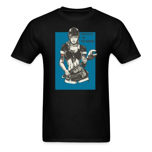 Looking for a Plumber Engineer T shirt - Men's T-Shirt