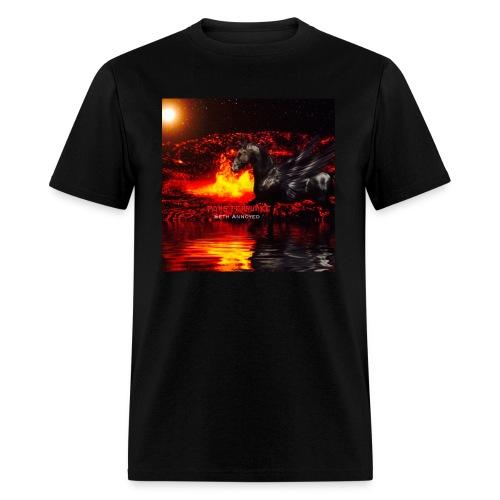 Monsterquake Seth Annoyed Album Coverart - Men's T-Shirt