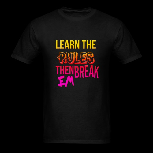 Learn em and break em - Men's T-Shirt