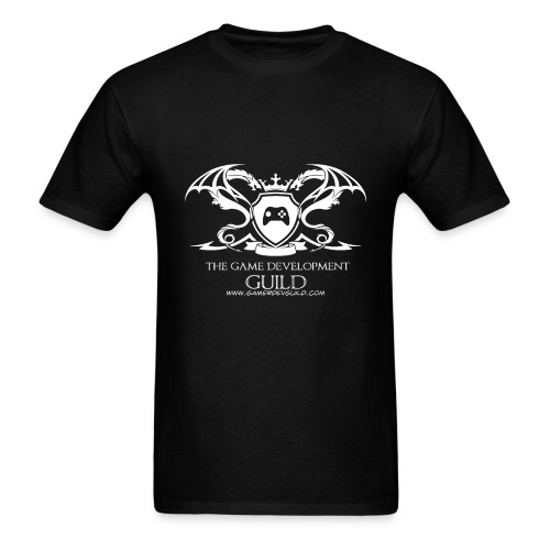 White Game Development Guild Crest - Men's T-Shirt