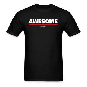 Awesome In Bed - Men's T-Shirt