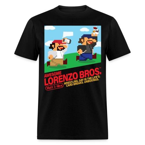 Awesome Lorenzo Bros 8 Bit - Men's T-Shirt