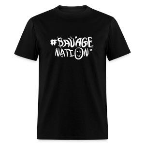 SAVAGE NATION classic white - Men's T-Shirt