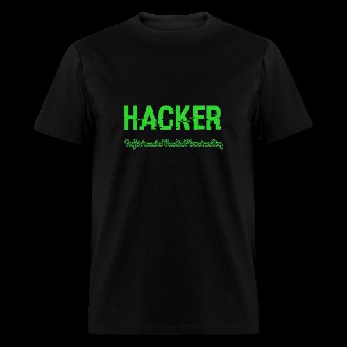 The Hacker - Men's T-Shirt