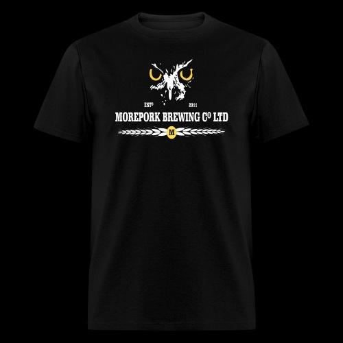 Morepork Brewing logo - Men's T-Shirt