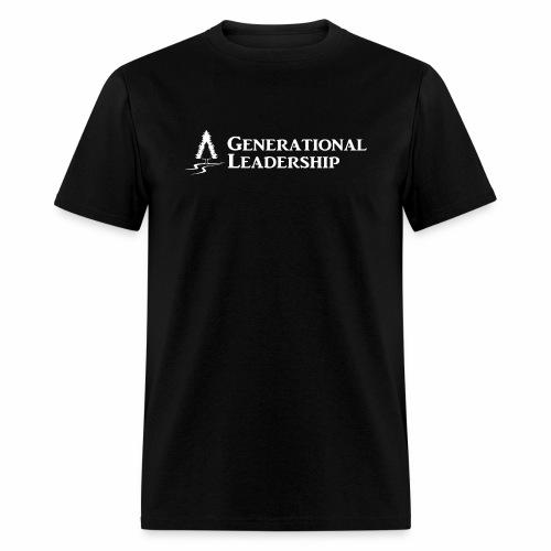 Generational Leadership wht - Men's T-Shirt