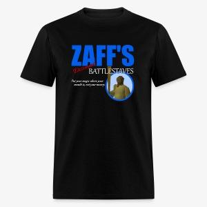 Zaff's Discount Battlestaves Tee - Men's T-Shirt