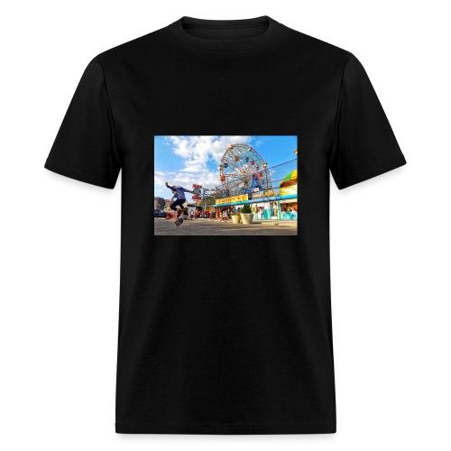 Coney Island Kickflip - Men's T-Shirt