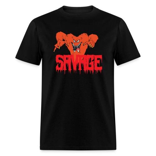 savage T shirt - Men's T-Shirt