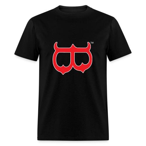 Red Mask UpsideDown - Men's T-Shirt